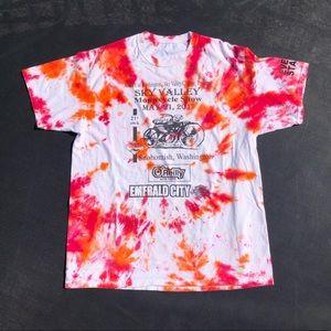 Tie Dye Harley Davidson Shirt